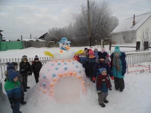 Снеговик Барыня