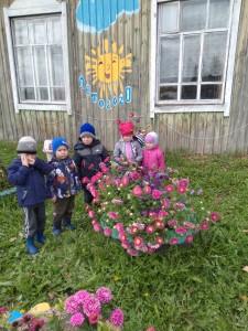 Экскурсия в цветник